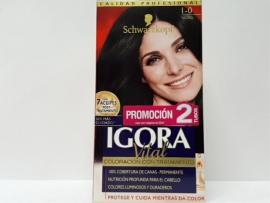 TINTE IGORA VITAL 1-0 NEGRO